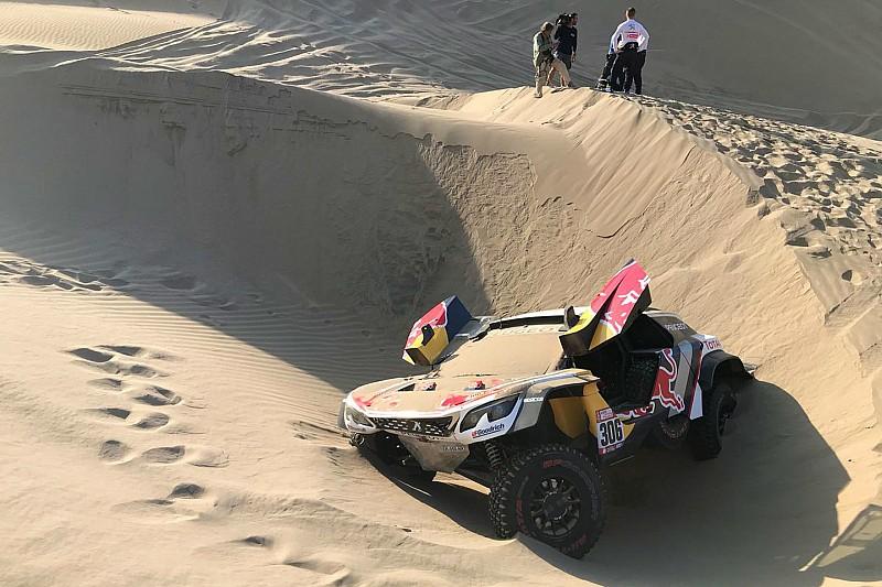 Loeb geeft op in Dakar 2018 wegens gewonde navigator