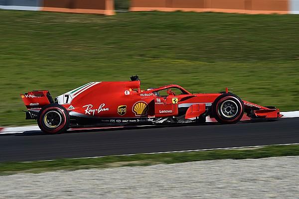 Raikkonen conclui pré-temporada da F1 na frente
