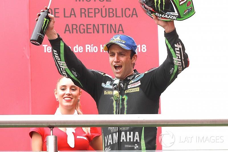 Pour Zarco, la 2e place compte plus que devancer les autres Yamaha