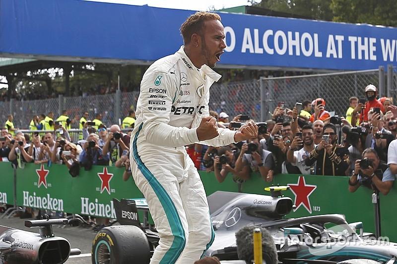 Italian GP: Hamilton defeats Raikkonen after Vettel clash