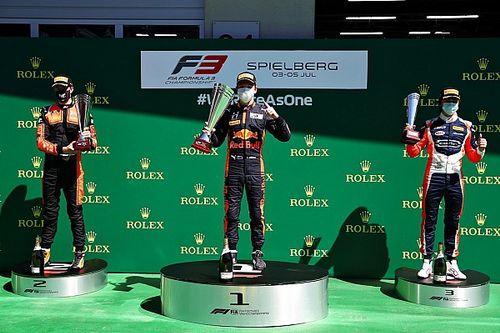 Red Bull Ring F3: el junior de Red Bull Lawson suma su primera victoria