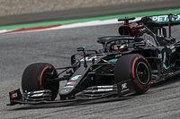 奥地利大奖赛FP2:汉密尔顿继续领跑,梅赛德斯高居前二