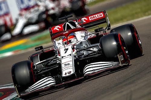 Raikkonen, cezaya rağmen Alfa Romeo'nun gelişiminden memnun