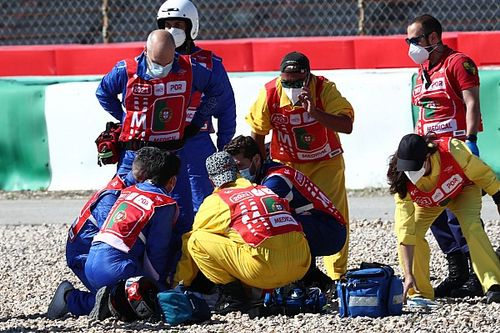 Jorge Martin set for surgery after violent MotoGP practice crash