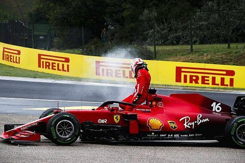 Ferrari, oltre il danno la beffa: il motore di Leclerc è KO!