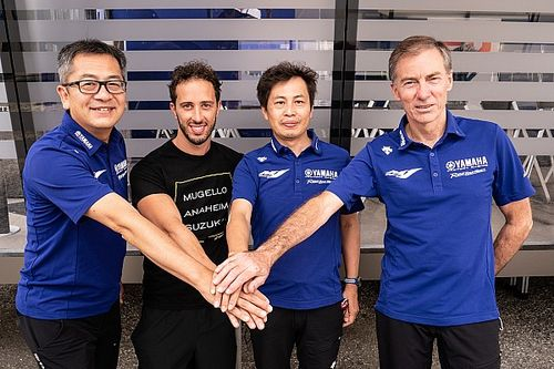 Yamaha anuncia el fichaje de Dovizioso de forma oficial