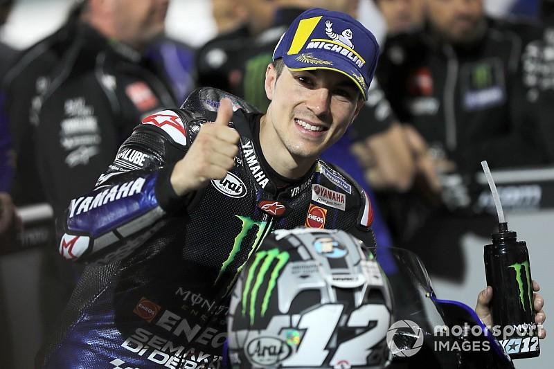 MotoGPカタールGP予選:ビニャーレスがポールポジション獲得! 中上貴晶は自己ベスト9番手