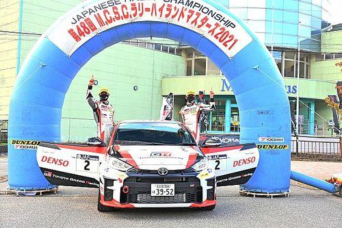 全日本ラリー選手権第10戦:ターマックでも速さ見せた勝田範彦、GRヤリスを駆り3連勝でランキング首位へ浮上