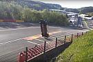 Rekaman insiden mobil melayang WEC Spa