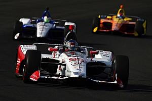 IndyCar Crónica de entrenamientos Marco Andretti marca el paso a la mitad del segundo día de pruebas