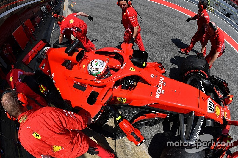 Ferrari: due giorni di test utili a ripulire le scorie del GP di Spagna