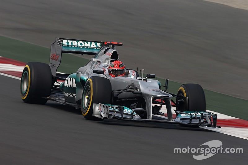 Schumacher verraste Kehm met rentree bij Mercedes
