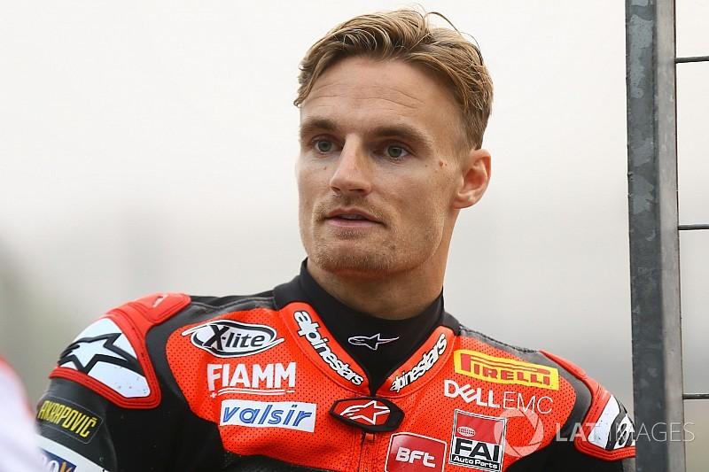 Jerez-Test: Chaz Davies zieht sich Knieverletzung zu