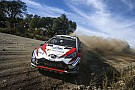 WRC 豊田章男社長「表彰台の頂点に立てるまでのクルマ作りをしてくれた」