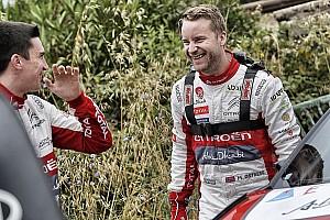 WRC Actualités Officiel - Østberg récolte le baquet Citroën de Meeke