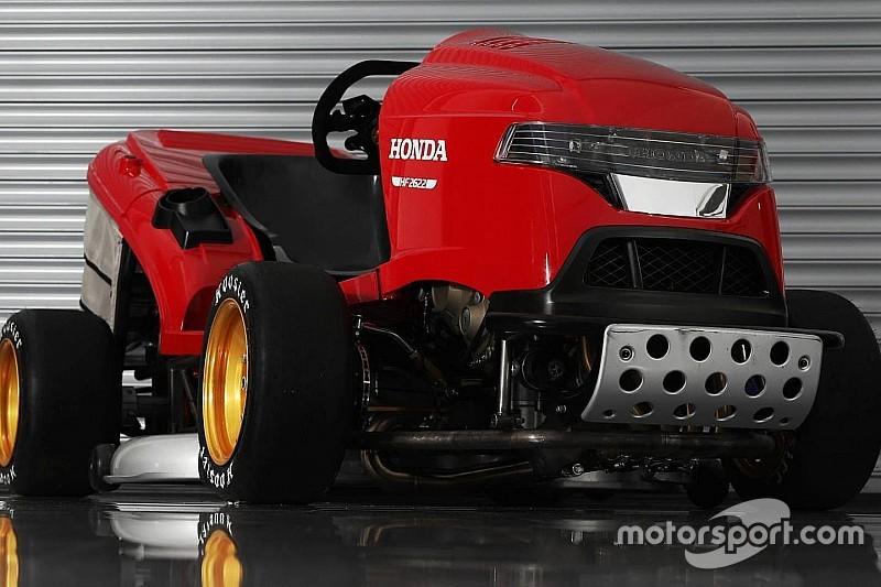 Відео: найшвидша у світі газонокосарка Honda у Гудвуді