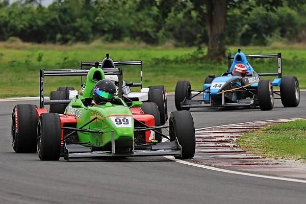 Indian Open Wheel Race report Chennai MRF F1600: Rangasamy takes lights-to-flag Race 3 win
