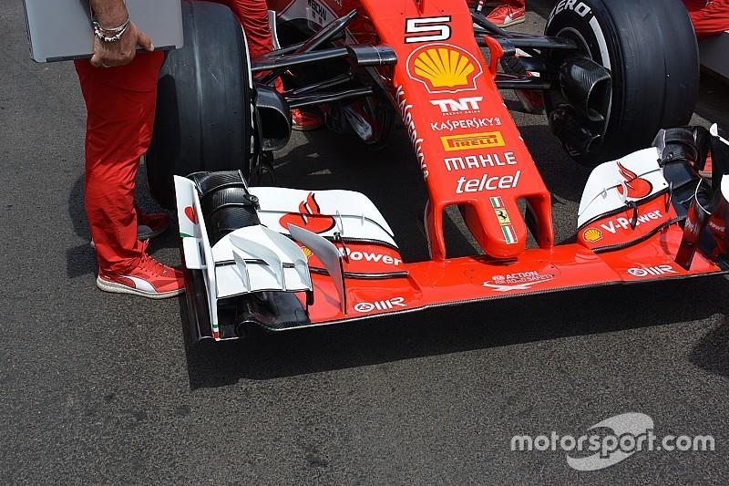 Технический брифинг: переднее крыло Ferrari SF16-H