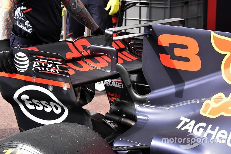 Red Bull: sulla RB13 spunta la T-wing alla ricerca del carico