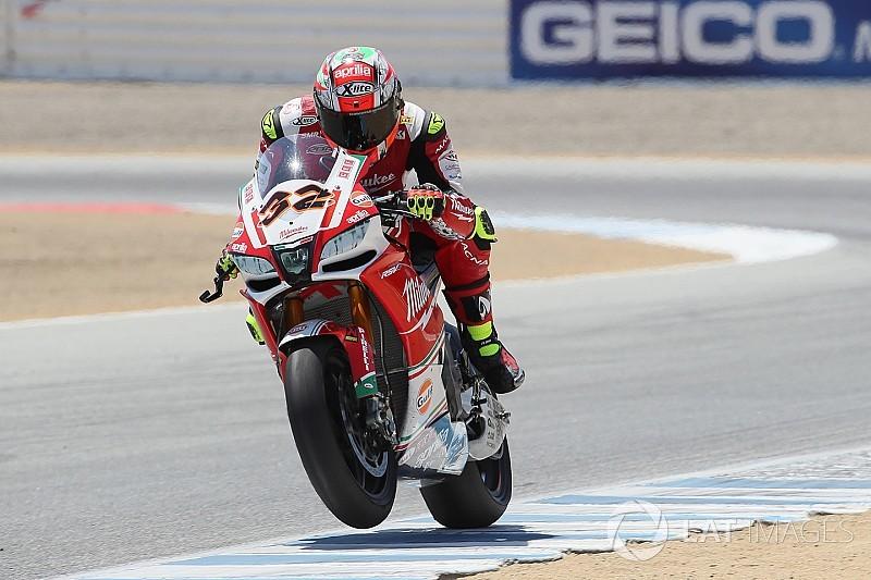 WSBK-Fahrer Lorenzo Savadori testet in Misano MotoGP-Bike für Aprilia