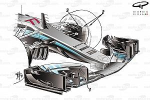 Technique : Mercedes innove encore avant l'Australie