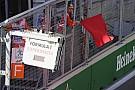 Formule 1 Rode vlag in Grand Prix van Azerbeidzjan vanwege brokstukken