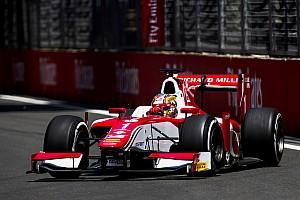 FIA F2 Отчет о гонке Леклер выиграл гонку Ф2 в Баку, которая закончилась пробкой на трассе
