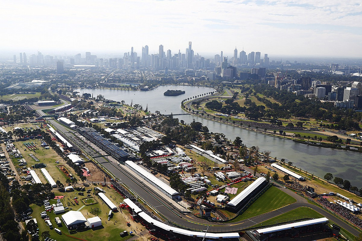 Le circuit de Melbourne est prêt à faire des travaux