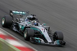 F1 Reporte de pruebas Bottas terminó adelante y Raikkonen chocó en Barcelona