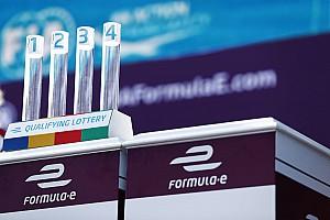 Formule E Actualités La Formule E a failli abandonner la loterie des qualifications