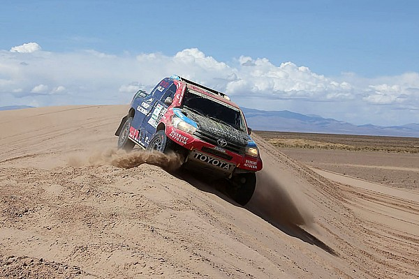 Despres, Roma say Dakar victory chances not over
