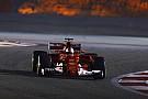 Vettel sigue mandando en Bahrein a pesar de sus problemas