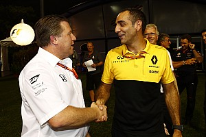 Brown: Renault, McLaren için kısa vadeli bir çözüm değil
