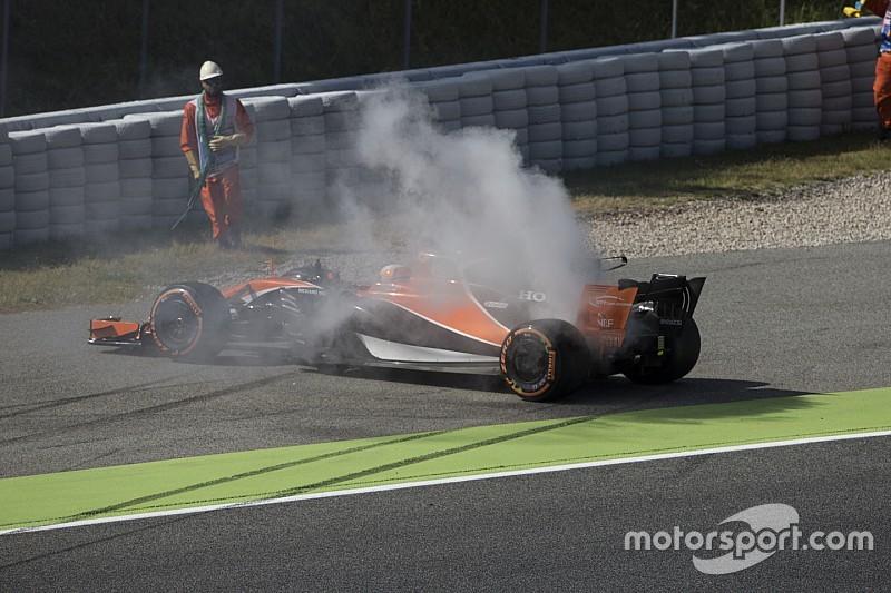 McLaren відчула зневіру після відмови двигуна в Алонсо