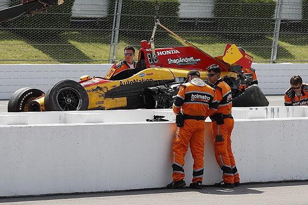 IndyCar News Nach 320-km/h-Crash: IndyCar-Fahrer erhält Startfreigabe