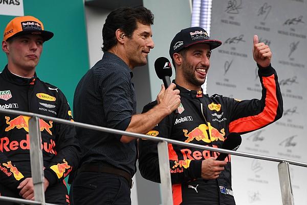 Webber: Ricciardo deve se concentrar em bater Verstappen