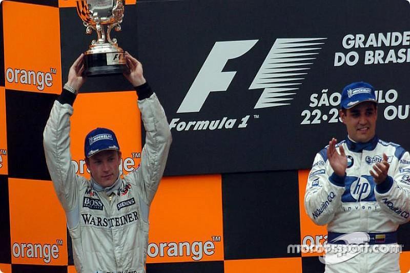 Egymás mellett Räikkönen és Montoya körrekordja Monzából: videó
