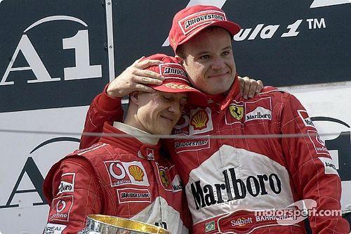 Barrichello: Schumacher jobb volt nálam, de nem tudjuk, hogy mennyivel…