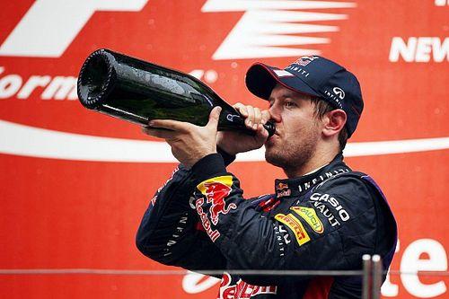 La borrachera de Vettel en India al coronarse en la Fórmula 1