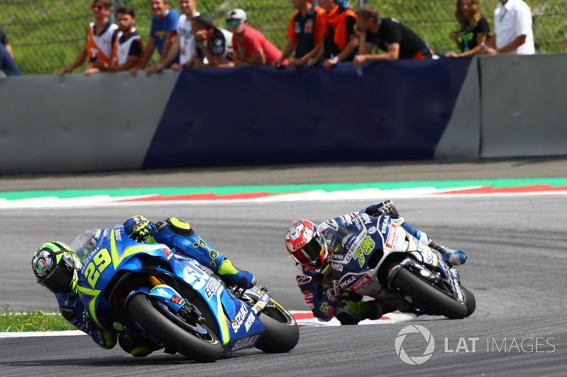 Андреа Янноне, Team Suzuki MotoGP, Лоріс Баз, Avintia Racing