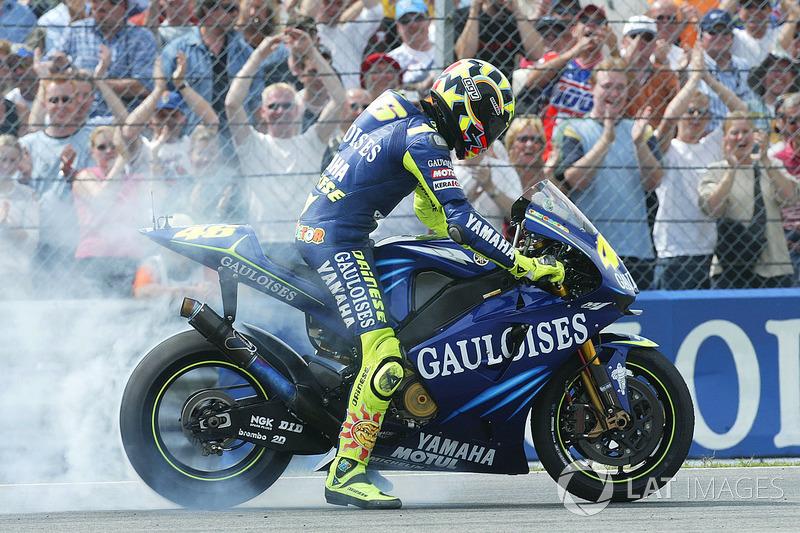 Winner Valentino Rossi Yamaha Factory Racing At Dutch Tt