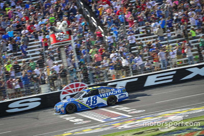 Sieg für Jimmie Johnson, Hendrick Motorsports, Chevrolet