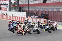 Start: Marc Marquez, Repsol Honda Team, leads