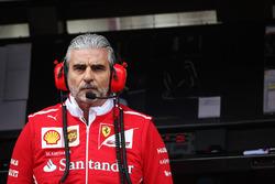 Maurizio Arrivabene, director del equipo Ferrari