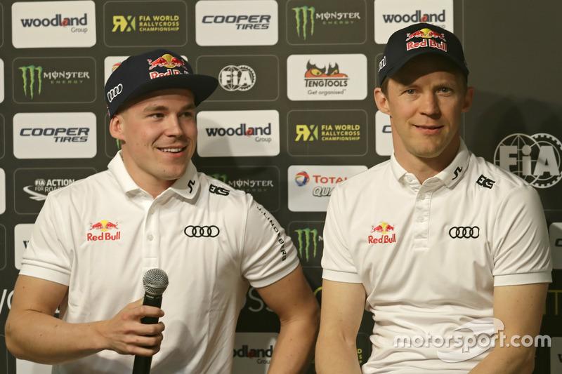 Toomas Heikkinen, Mattias Ekström, EKS, Audi S1 EKS RX Quattro