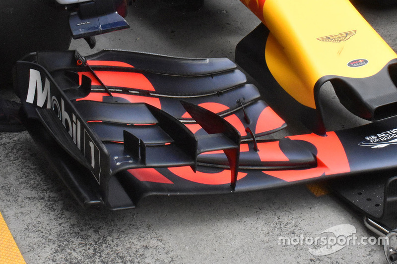 Red Bull Racing RB13, Detail Frontflügel