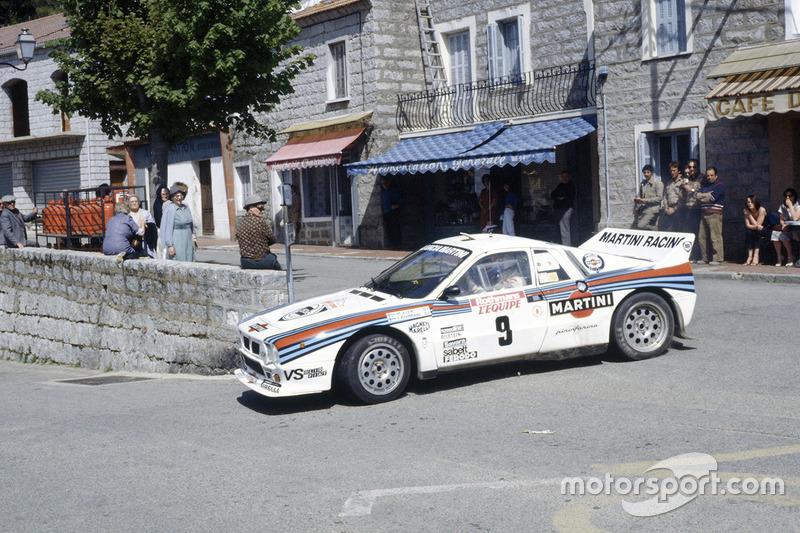 Markku Alén, Ilka Kivimäki, Lancia Rally 037