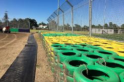 Vorbereitungen beim GP Australien