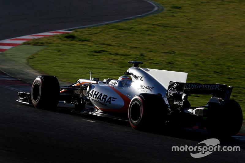 Alfonso Celis Jr., Force India F1 piloto de desarrollo
