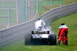Kimi Raikkonen, McLaren Mercedes MP4/17
